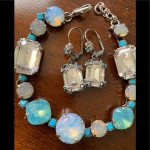 Sorrelli bracelet and earrings